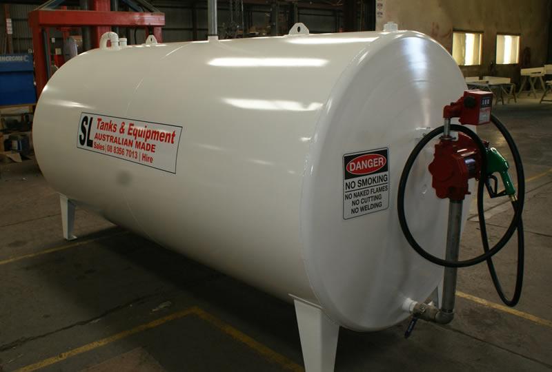 Onground Diesel Amp Petrol Storage Tanks